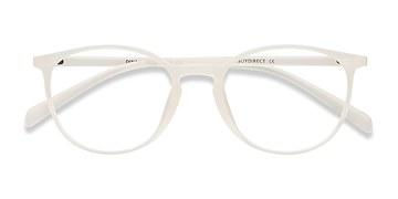 Clear/White Dinah -  Classic Plastic Eyeglasses