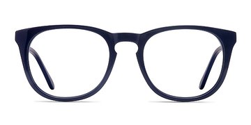 Navy Providence M -  Colorful Acetate Eyeglasses