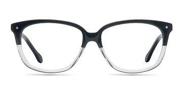 Black & Clear  Escapee S -  Fashion Acetate Eyeglasses