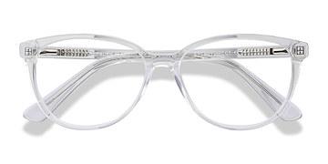 Clear Hepburn M -  Fashion Acetate Eyeglasses