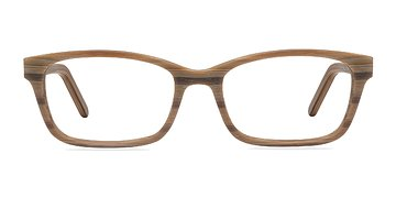 Brown Striped Mesquite S -  Classic Eyeglasses
