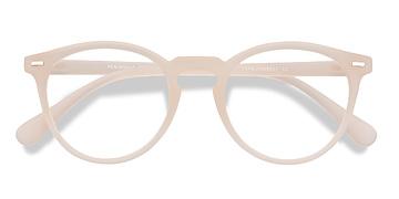 Matte White Peninsula -  Plastic Eyeglasses