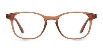 Matte Brown Monday -  Plastic Eyeglasses