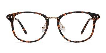 Floral Cosmo -  Metal Eyeglasses