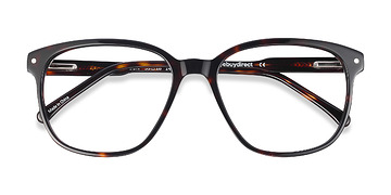 Dark Tortoise Lisbon -  Designer Acetate Eyeglasses