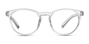 Clear Little Chilling -  Plastic Eyeglasses