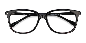 Black Escape -  Acetate Eyeglasses