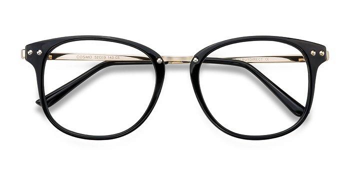 Black Cosmo -  Metal Eyeglasses