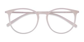 Matte Clear Dialogue -  Fashion Plastic Eyeglasses