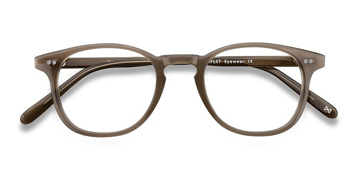 Taupe Symmetry -  Acetate Eyeglasses