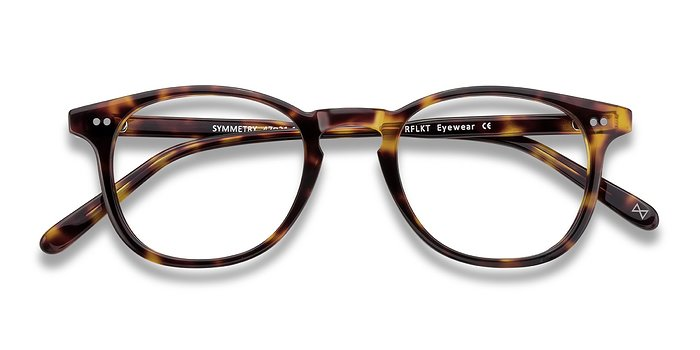 Tortoise Symmetry -  Acetate Eyeglasses