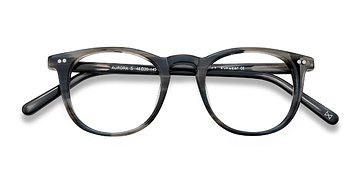 Striped Aurora -  Designer Acetate Eyeglasses