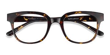 Tortoise Flashback -  Classic Plastic Eyeglasses