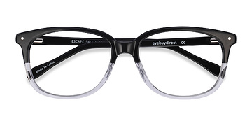 Black Escape -  Classic Acetate Eyeglasses