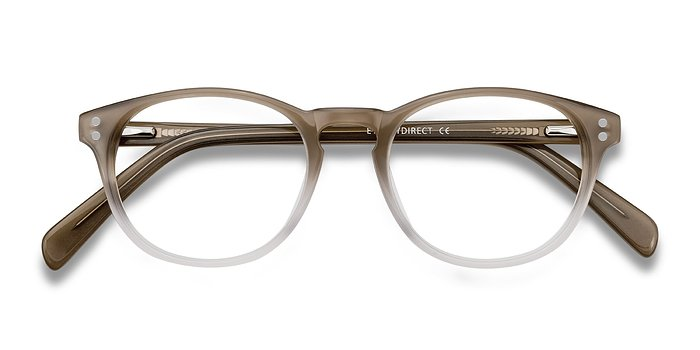 Brown Split -  Acetate Eyeglasses