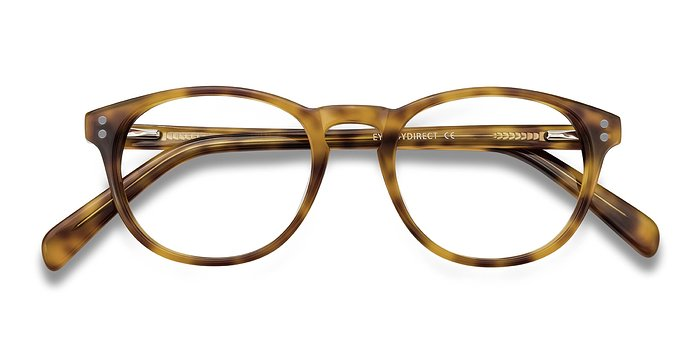 Tortoise Split -  Acetate Eyeglasses