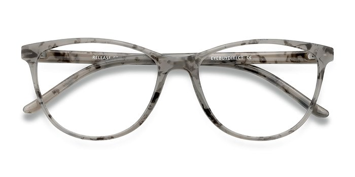 Speckled Gray Release -  Plastic Eyeglasses