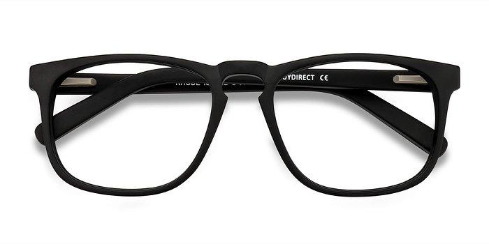 Matte Black Rhode Island -  Acetate Eyeglasses