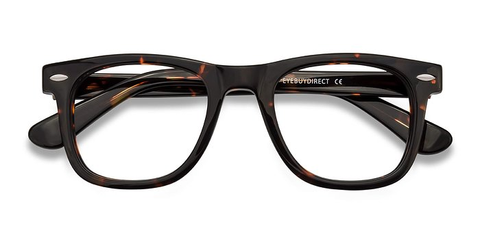 Dark Tortoise Blizzard -  Acetate Eyeglasses