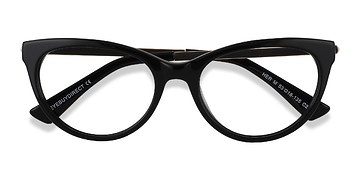 Black Her -  Acetate Eyeglasses