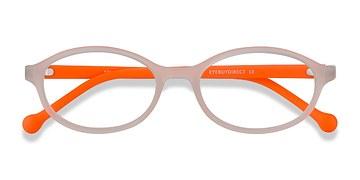 Matte Clear Skipper -  Plastic Eyeglasses