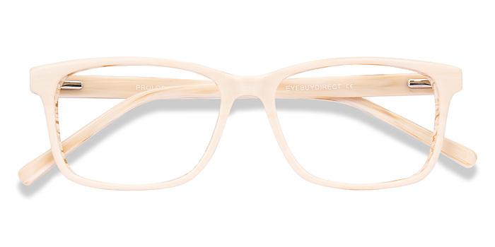 White Prologue -  Acetate Eyeglasses