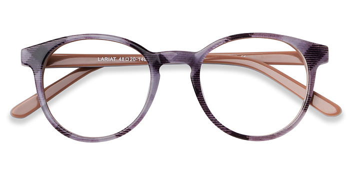 Striped Lariat -  Acetate Eyeglasses