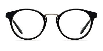 Black/Silver Get Lucky -  Fashion Acetate Eyeglasses