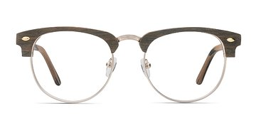 Brown Esteban M -  Wood Texture Eyeglasses