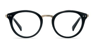 Black Bellefond -  Designer Acetate Eyeglasses