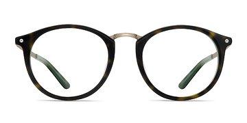 Tortoise Green La Femme -  Acetate Eyeglasses