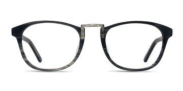 Gray Striped Tomorrow -  Acetate Eyeglasses