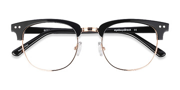 Black Borderline -  Acetate Eyeglasses