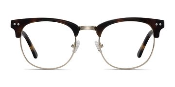 Tortoise Borderline -  Designer Acetate Eyeglasses