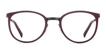 Burgundy Alpha -  Acetate Eyeglasses