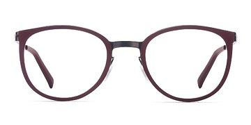 Burgundy Alpha -  Acetate Eyeglasses