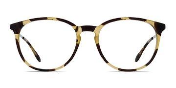 Light Tortoise Gracious -  Metal Eyeglasses