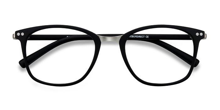 Matte Black Savannah -  Classic Metal Eyeglasses