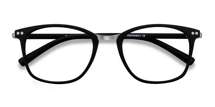 Matte Black Savannah -  Fashion Metal Eyeglasses