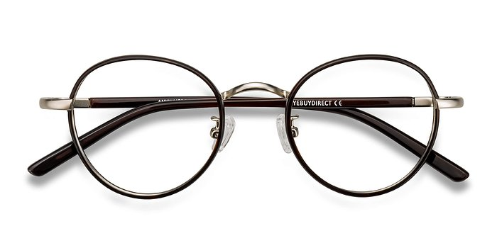 Brown Anywhere -  Vintage Acetate Eyeglasses