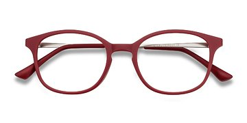 Raspberry Villa -  Metal Eyeglasses