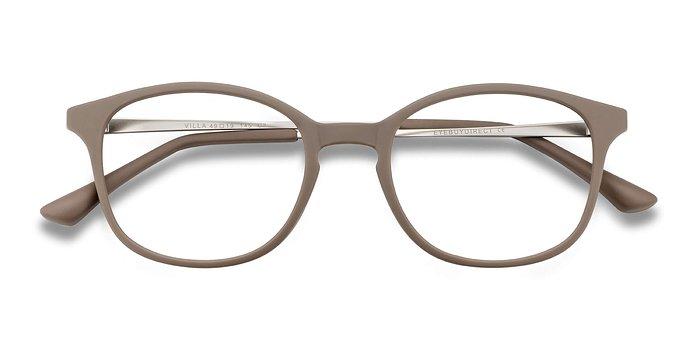 Taupe Villa -  Metal Eyeglasses