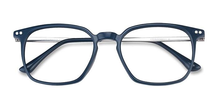 Teal Ghostwriter -  Metal Eyeglasses