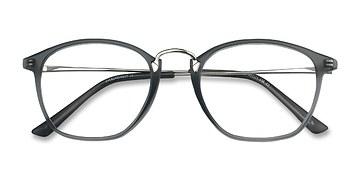 Matte Gray Crave -  Vintage Metal Eyeglasses