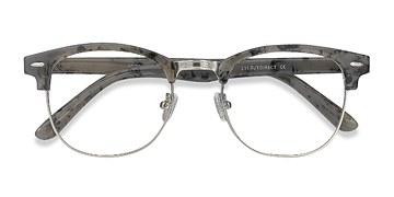 Speckled Gray Roots -  Vintage Métal Lunettes de Vue