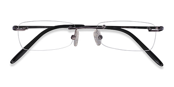 Gunmetal  South -  Lightweight Metal Eyeglasses