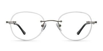 Silver Fuse -  Lightweight Metal Eyeglasses