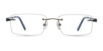 Gunmetal Quantum -  Metal Eyeglasses