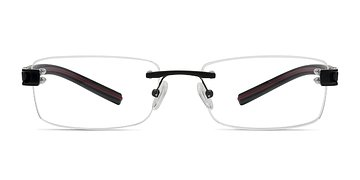 Black FLOW -  Acetate Eyeglasses