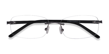 Gunmetal Limitless -  Lightweight Metal Eyeglasses